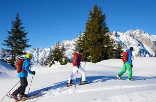 Ski touring wonderland in Maria Alm at the Hochkönig
