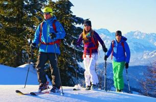 Ski touring in the Hochkönig region